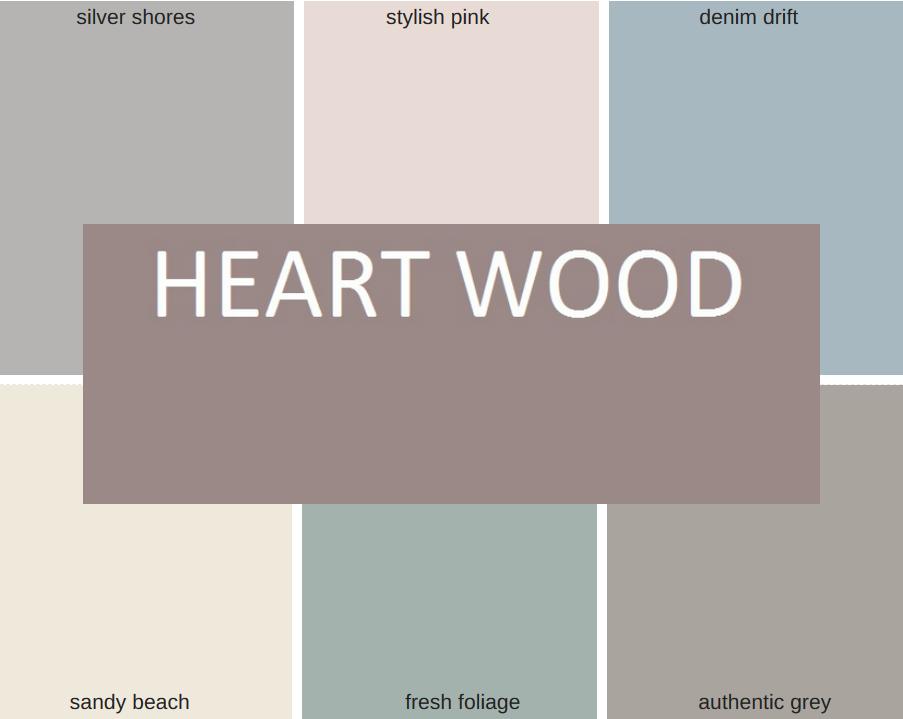 Kleur Van Het Jaar 2018 Heart Wood